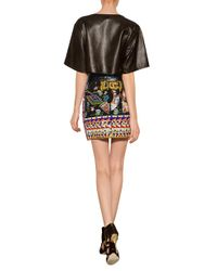 Emilio Pucci - Black Beaded Miniskirt - Lyst