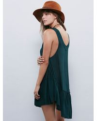 Free People - Green Say It With A Layer - Lyst