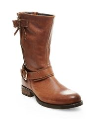 Steve Madden - Brown Kavilier Leather Boots - Lyst