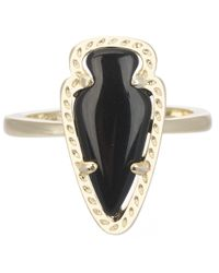 Kendra Scott | Skylen Ring Black | Lyst