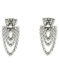 DANNIJO | Metallic Curtis Ear Jacket Earrings | Lyst