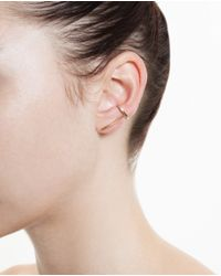 Asherali Knopfer - Metallic Gold Theo Earring - Lyst