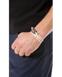 Miansai - Natural Brummel Hook Noir Bracelet for Men - Lyst