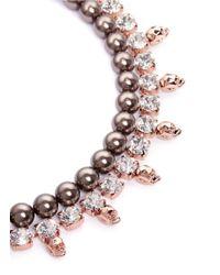 Joomi Lim - Multicolor Skull Crystal Pearl Necklace - Lyst