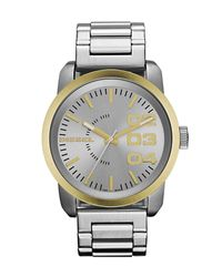 DIESEL - Metallic Watch for Men - Lyst