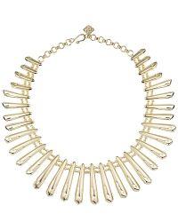 Kendra Scott | Metallic Jill Statement Necklace, Gold | Lyst