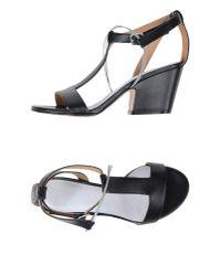 Maison Margiela - Black Sandals - Lyst
