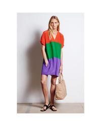 Tomas Maier - Multicolor Silk Dress - Lyst