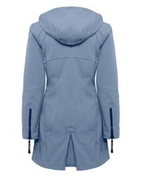 Ilse Jacobsen - Blue Classic Softshell 3/4 Raincoat - Lyst