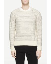 Rag & Bone | White Justin Crew for Men | Lyst