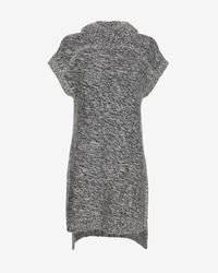 Exclusive For Intermix - Gray Turtleneck Tunic - Lyst