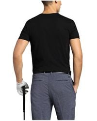 BOSS Green - Black T-shirt 'tee Mk' With A Round Neckline for Men - Lyst