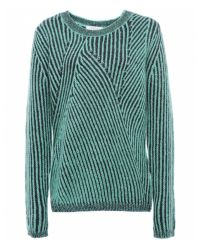 Paul by Paul Smith - Green Twist Knit Sweater - Lyst