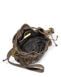CC SKYE - Black Nika Pouchette Grommet Crossbody Bag - Lyst