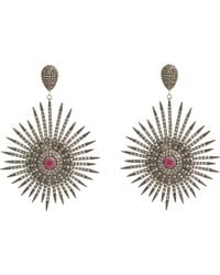 Carole Shashona - Metallic Soul Sparkler Drop Earrings - Lyst
