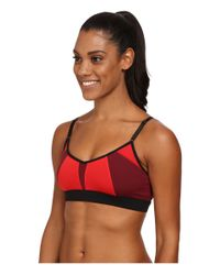 Alo Yoga - Red Trace 2 Bra - Lyst