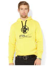 Polo Ralph Lauren - Yellow Lightweight Fleece Hoodie for Men - Lyst