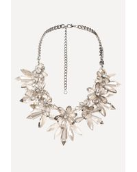 Bebe | Multicolor Chandelier Necklace | Lyst