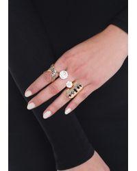 Bebe - Multicolor Stackable Ring Set - Lyst