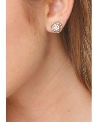 Bebe - Metallic Dainty Stud Earring Set - Lyst