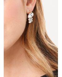 Bebe - Metallic Sparkling Earring Set - Lyst