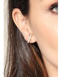Bebe - Metallic Geometric Stud Earring Set - Lyst