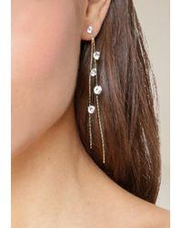 Bebe - Multicolor Delicate Duster Earrings - Lyst