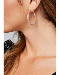 Bebe - Multicolor Multi-hue Hoop Earring Set - Lyst