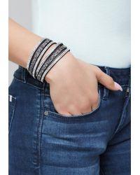 Bebe - Blue Luxe Fashion Bracelet - Lyst