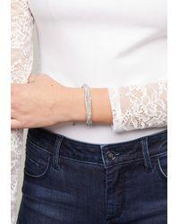 Bebe - Metallic Mesh Twist Bracelet - Lyst