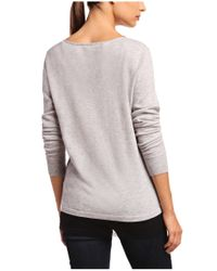 BOSS Orange - Gray Sweater In New-wool Blend 'wandellacrafted' - Lyst