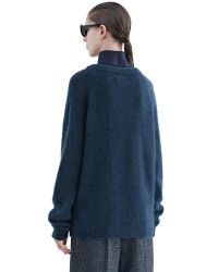 Acne | Dramatic Mohair Dusty Blue for Men | Lyst