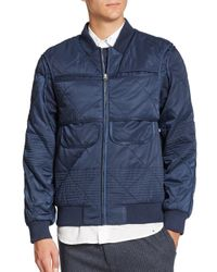 YMC - Blue Anti-exposure Jacket for Men - Lyst
