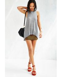 Project Social T - Gray Chandler Cut-in Tank Top - Lyst