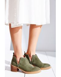 Jeffrey Campbell | Green Fontana Ankle Boot | Lyst