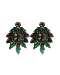 Coast - Green Corine Earring - Lyst