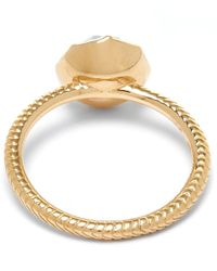 Larkspur & Hawk | Gold Bella Blue Quartz Stacking Ring | Lyst
