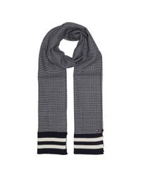 Tommy Hilfiger - Gray Knit Stripe End Scarf for Men - Lyst