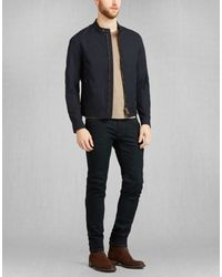Belstaff - Blue Gransdale Lightweight Blouson for Men - Lyst