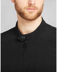 Belstaff - Gransden Reversible Blouson In Black Fabric Tenyl Nylon for Men - Lyst