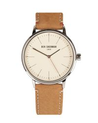 Ben Sherman | Brown Portobello Touch Watch for Men | Lyst