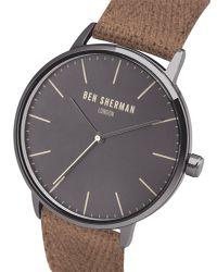 Ben Sherman - Multicolor Portobello Touch Watch for Men - Lyst