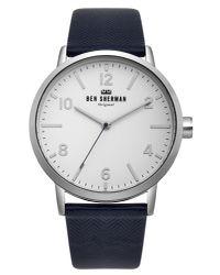 Ben Sherman - Blue Portobello Herringbone Watch for Men - Lyst