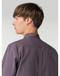 Ben Sherman - Purple Long Sleeve New Mini House Gingham Shirt for Men - Lyst