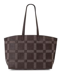 Akris - Brown Ai Medium Patchwork Shoulder Bag - Lyst