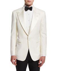 Tom Ford | White Windsor Base Dinner Jacket for Men | Lyst