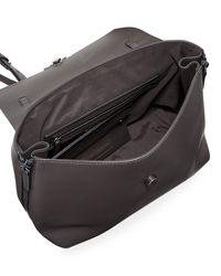 Brunello Cucinelli - Gray Medium Smooth Leather Monili Top Handle Bag - Lyst