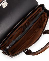 Berluti - Brown Iii Gloria Leather Briefcase for Men - Lyst