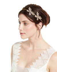 Jennifer Behr - Multicolor Mariposa Crystal Circlet Headband - Lyst