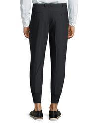 Neil Barrett - Black Trouser Jogger Pants for Men - Lyst